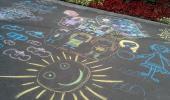 16 июля - День рисования на асфальте