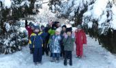 """Прогулка в подготовительной группе № 9 """"Наблюдение за снегом"""""""