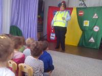 «Азбука безопасности» Театрализованное игровое представление  по правилам дорожного движения.