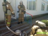 """В детском саду """"Чайка"""" прошли плановые учения с сотрудниками пожарной охраны."""